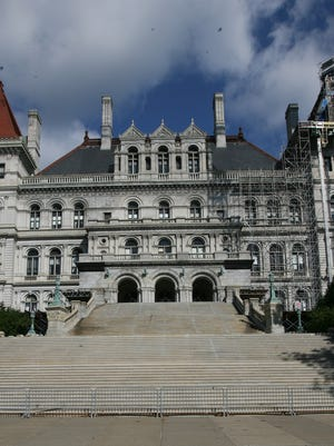 The Capitol in Albany.