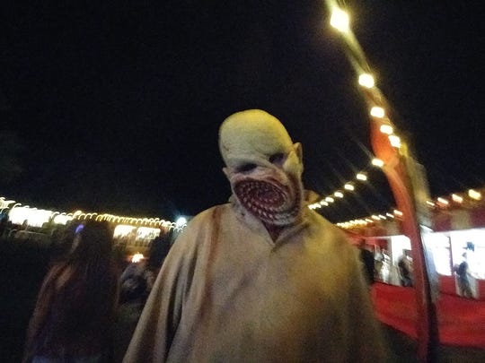 If the mazes don't get you, the inhabitants of Scream-A-Geddon's Monster Midway might