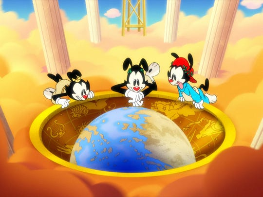 The Warner brothers, Yakko and Wakko, and the Warner sister Dot have returned from the 1990s to bedevil 2020, thanks to a new Hulu reboot.
