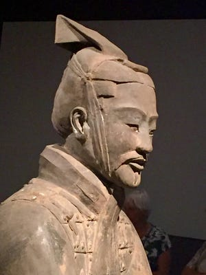 Terracotta Warriors exhibit at the Chicago Field Museum, Chicago, Ill., summer 2016.