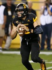 ASU quarterback Mike Bercovici.