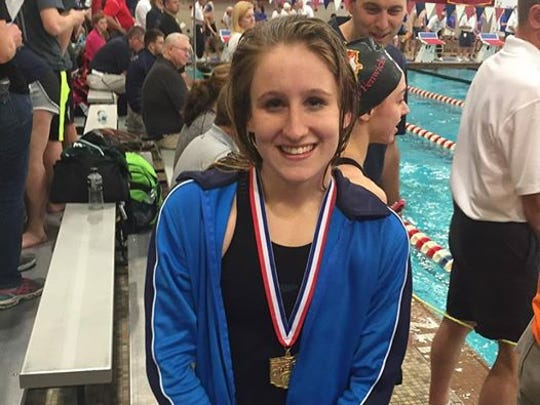 Leah Dupre of Mariemont is the DII Swimmer of the Year.