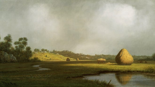 Martin Johnson Heade's paintings of salt marshes like this one in Newburyport, Mass., are among his most famous works. While many painters at the time focused on grand nature spectacles like Niagara Falls, Heade chose to paint  less dramatic features.