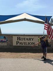 Sheboygan-area veteran Anthony Salazar arrived in Two