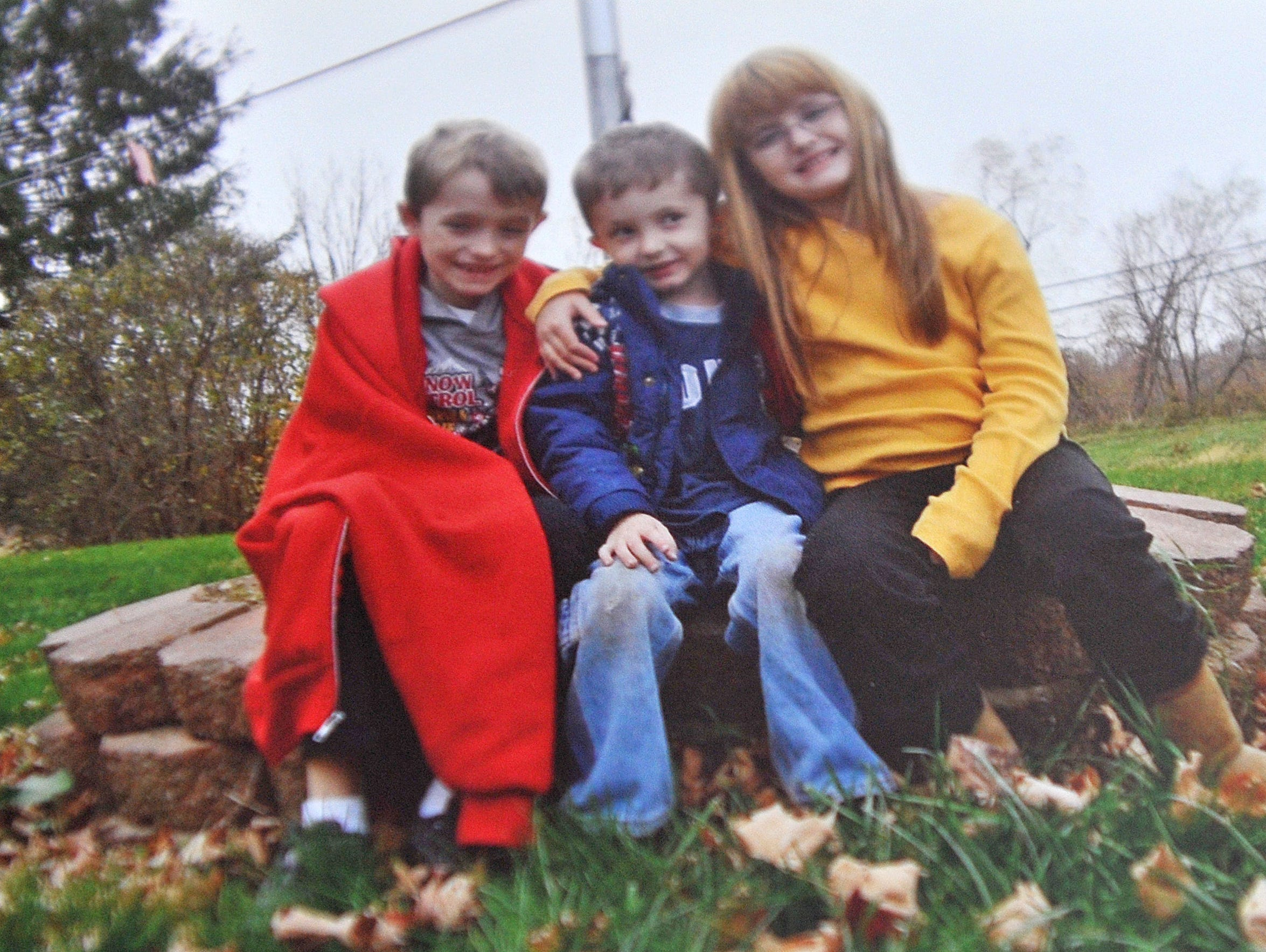 A picture of Linda Perry's grandchildren. Perry passed