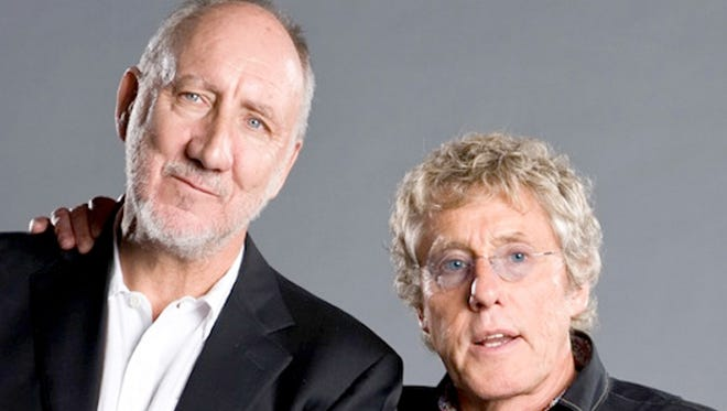 Pete Townshend, left, and Roger Daltrey have rescheduled The Who's canceled Louisville date for March 12.