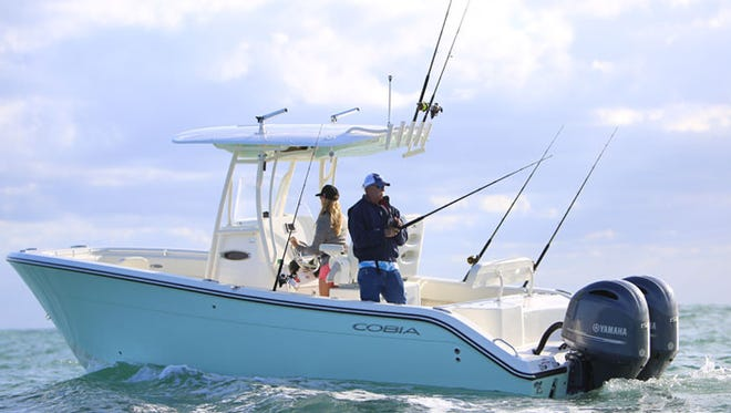 Cobia boats, one of four brands built by the Maverick Boat Group in Fort Pierce, is the No. 1 selling boat brand in its class. Friday, the company celebrated a ground breaking ceremony where it will build a 106,000 square foot construction facility in Fort Pierce.