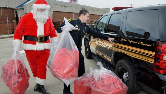 Operation Santa Claus Dec. 23, 2014.