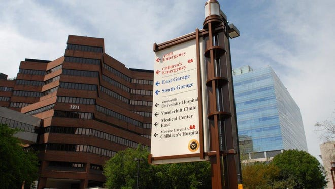 Vanderbilt University Medical Center is the top-ranked hospital in the state, according to U.S. News & World Report's Best Hospitals rankings, released Tuesday.