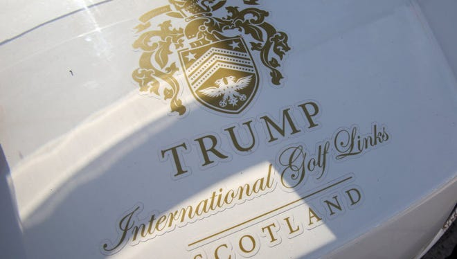 Trump will reopen his newly renovated resort in Scotland on June 24, 2016.