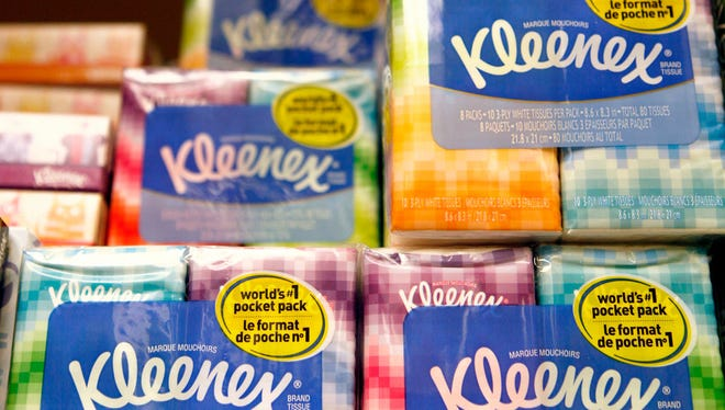 Kimberly-Clark is the maker of Kleenex brand products among other tissues and papers and has 2,500 employees in Wisconsin.