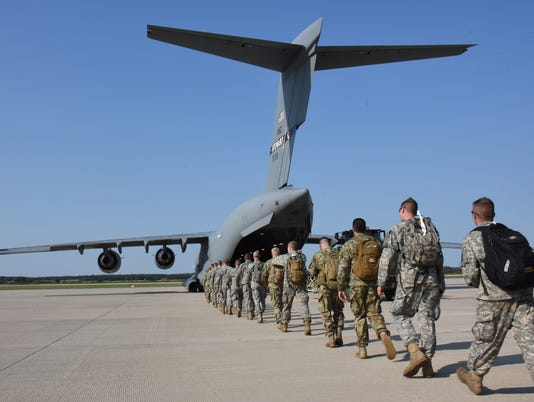 Wisconsin National Guardsmen support Hurricane Irma recovery