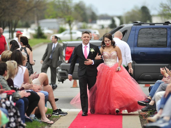 Shelby Prom Grand March 2018
