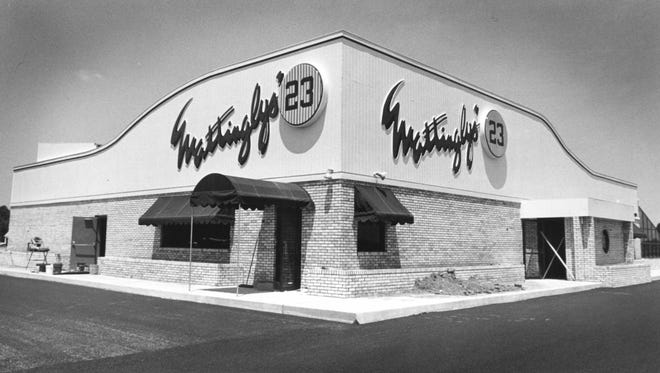Mattingly's 23 closed in 1996 after being open for nine years.