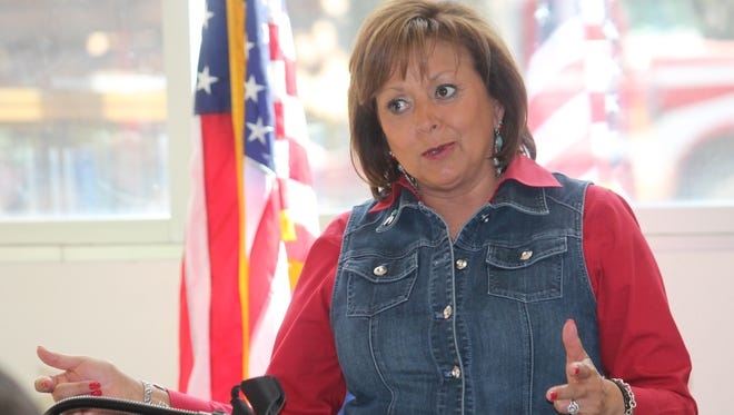 Gov. Susana Martinez announced her goal for every student in New Mexico to have access to high-speed Internet. She said state agencies have teamed up with EducationSuperHighway, a national non-profit organization that helps develop a better infrastructure for Internet access.