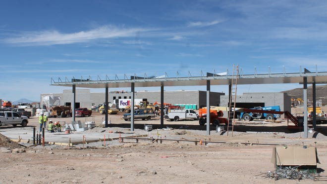 The Neighborhood Market currently being built in Alamogordo will have a fueling station as well as fresh produce, meat and dairy products, bakery and deli items, household supplies, health and beauty aids and a full-service pharmacy.