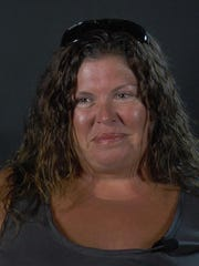 Traci Reed, wife of Caravel coach John Reed and mother of Jake Reed and Hailey Reed.