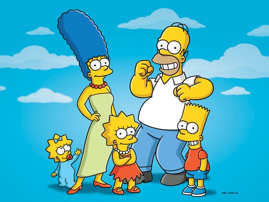 Flag The Simpsons
