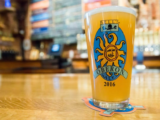Oberon Day is when Bell's Brewery's summer beer goes on sale for the season.