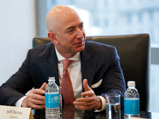 Amazon Chief Executive Jeff Bezos now seems to understand that he can't win the grocery game with websites, warehouses and trucks alone.