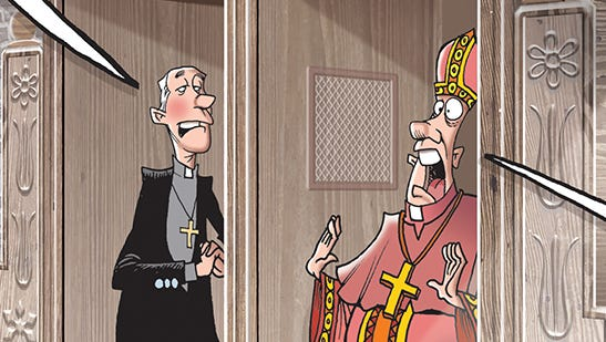 Criminal sexual abuse has been going on inside the Catholic Church.