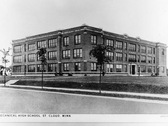 Technical High School, pictured after being erected