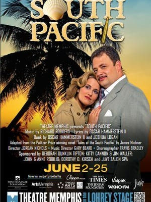 'South Pacific' runs at Theatre Memphis -- for the first time --  June 2-25