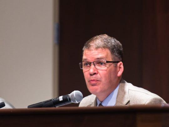 Chief Finance Officer Tim Flora