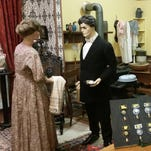 "This scene at the Plymouth Historical Museum represents the kitchen at ""Downton Abbey,"" the estate named after the British television series of the same name. The museum's current exhibit, ""It's a Downton Abbey Thing,"" runs through Sunday, June 12."