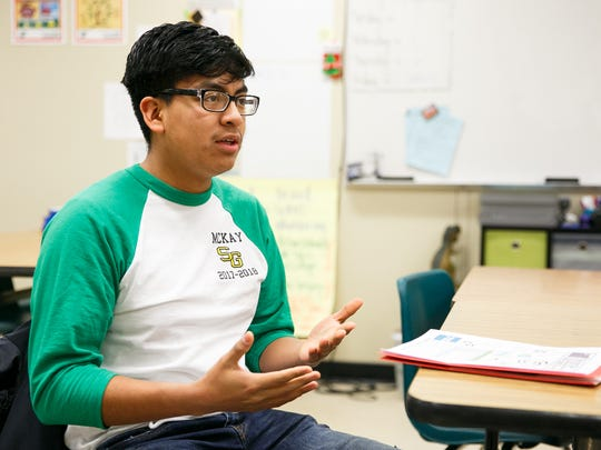 Raul Marquez, a former McKay High School student, helped raise about $410,000 for Taylor's House, an emergency shelter for Salem's homeless youth. Now a student at Willamette University, he's still working to inspire younger students to take action.