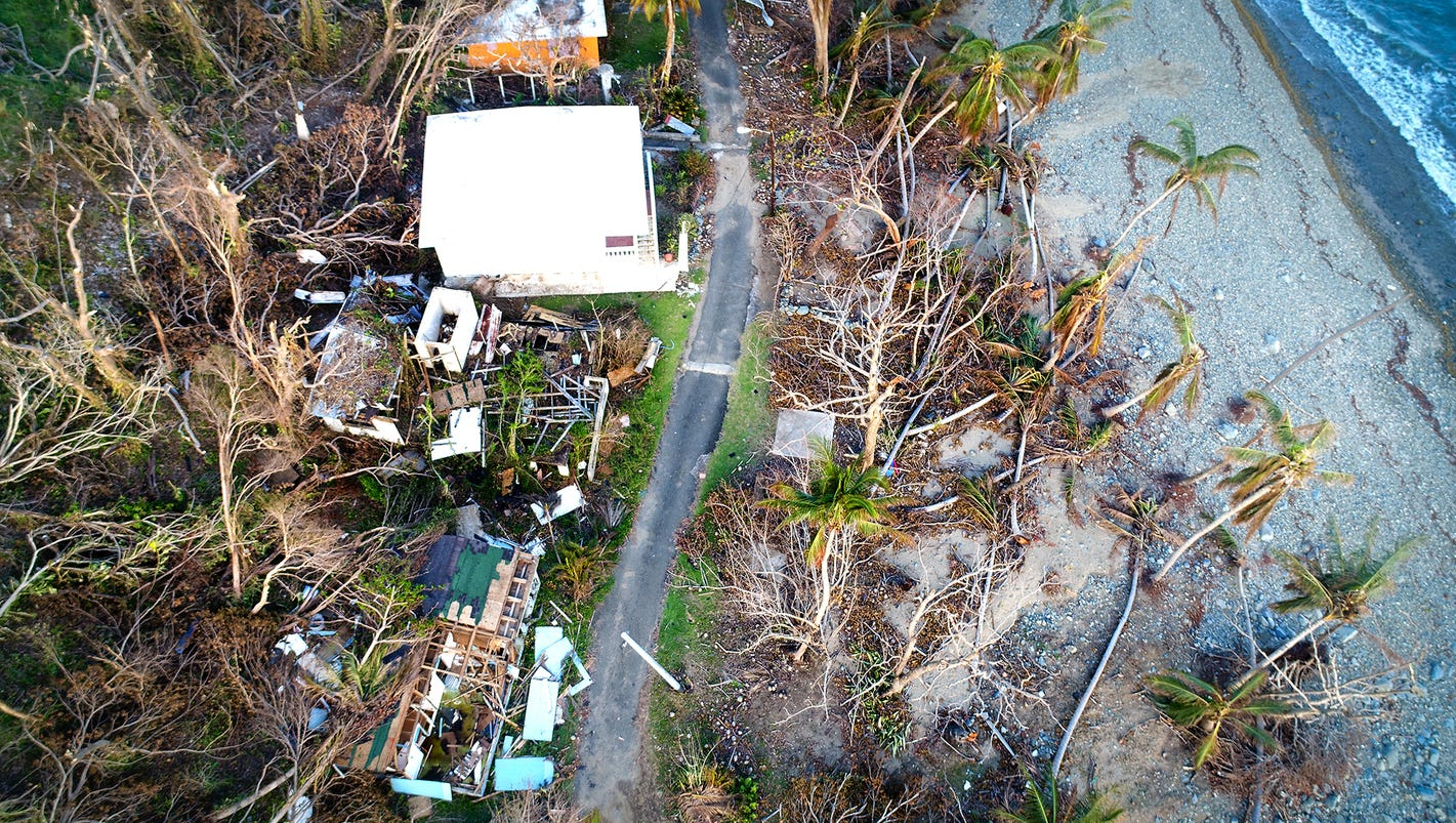 Puerto Rico's young professionals leaving behind life wrecked by Hurricane Maria