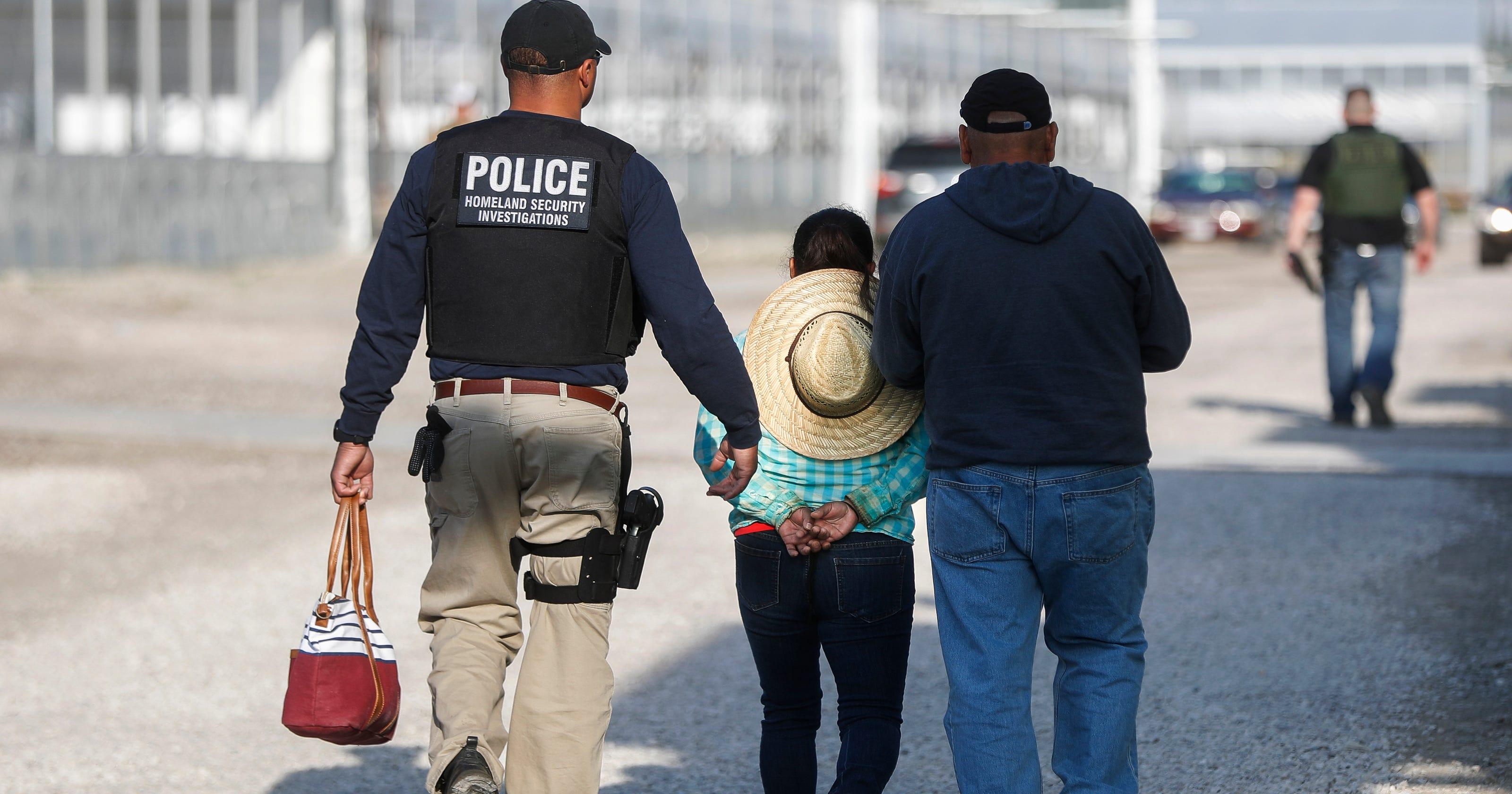 immigration agents arrest 114 - HD1920×1280