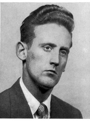 Vin Scully said when he was a boy, his ears were big. Were they still that way in 1949 in his Fordham University yearbook photo?