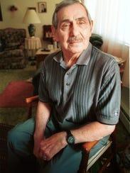 Charles Kamendat at age 79 in 2000.