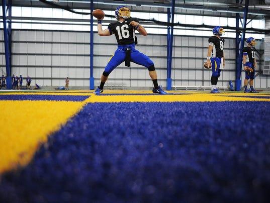 SDSU Football Practice