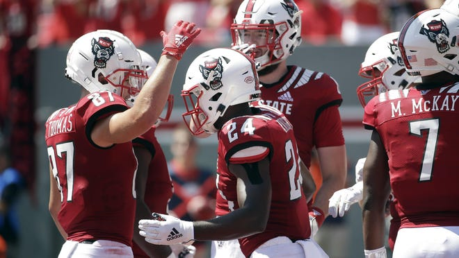 The NC State football opener has been pushed back for a week by COVID-19 concerns on the school campus.