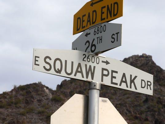Squaw Peak Drive