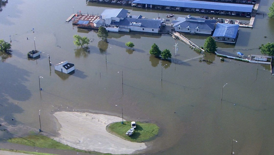 Floods Cripple Holiday Weekend Plans For Some