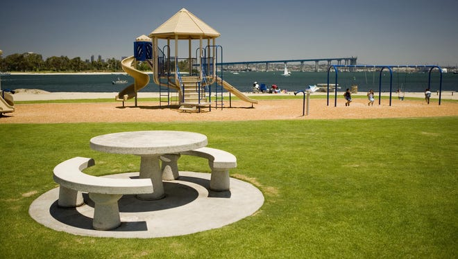 Choose playgrounds for your children that do not have rubber mulch and crumb rubber filling.