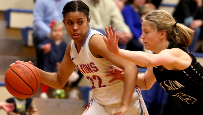 South Salem's Evina Westbrook is the Greater Valley Conference girls basketball player of the year.