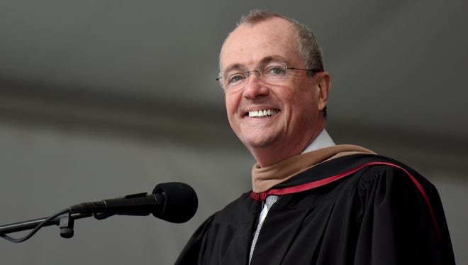 The 50th commencement ceremony of Bergen Community College graduation was held at MetLife Stadium on Thursday, May 17, 2018. NJ Gov. Phil Murphy speaks at BCC graduation.