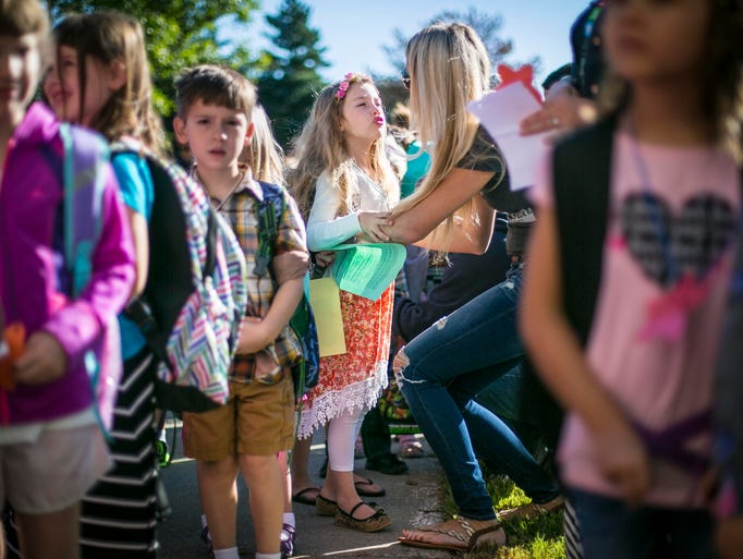 22 photos: First day of school tears and hugs at Westridge Elementary