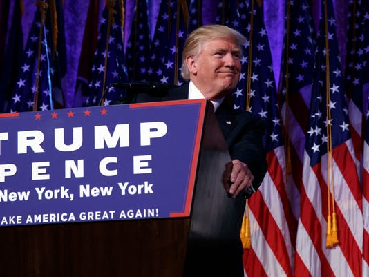 AP 2016 ELECTION TRUMP A ELN USA NY