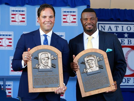 2016 Baseball Hall of Fame Induction Ceremony