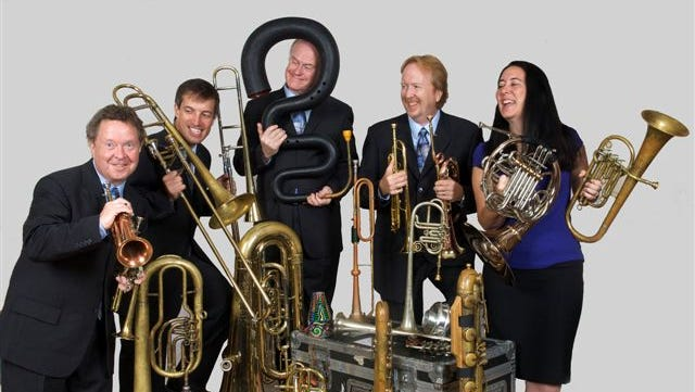 The Grammy-award winning group the Chestnut Brass Company plays at 7:30 p.m. Jan. 27 at St. Mary's Cathedral.
