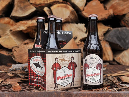 With a name like Pennsylvania Tuxedo, the collaboration between Delaware's Dogfish Head Craft Brewery and Pennsylvania's Woolrich (the outdoor clothing company), is guaranteed to be fully spruced.