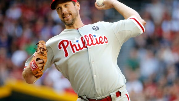 Cliff Lee will get the start when the Phillies return to action Friday to open a series against the Nationals.