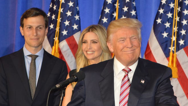 A mellower Donald Trump came to Briarcliff Manor on June 7.