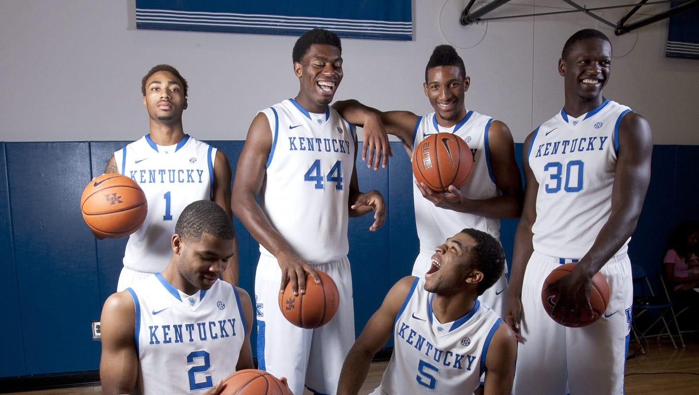 Kentucky Basketball Ranking The Top Five Wildcats Players: Kentucky Reloads: Calipari Ushers In 'best Ever' Freshman