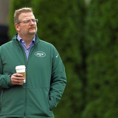 Jets general manager Mike Maccagnan says he could add